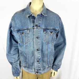 LEVI'S 70507 Denim Standard Trucker Jacket XL